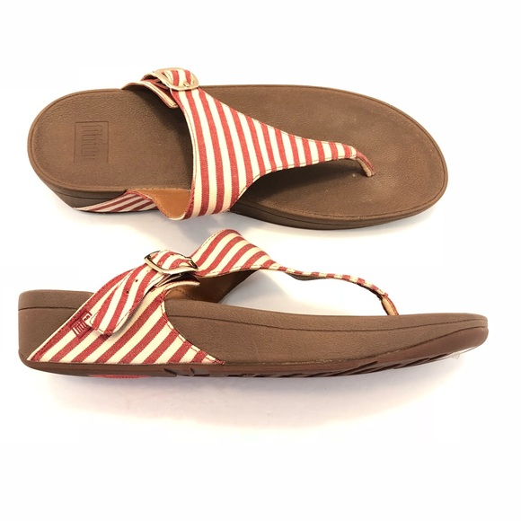 ded886f9c01e8f Fitflop Shoes - The FitFlop Skinny Striped Sandal